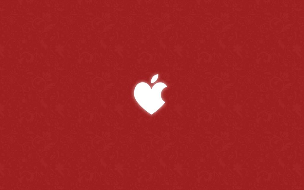 Happy Apple Valentine  s Day by KedziGFX 1024x640 - Happy Valentine's