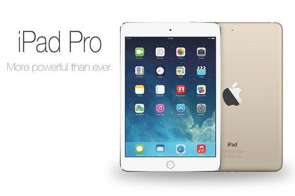 ipad pro ad - A Laptop Sized iPad - Rumoured for 2015