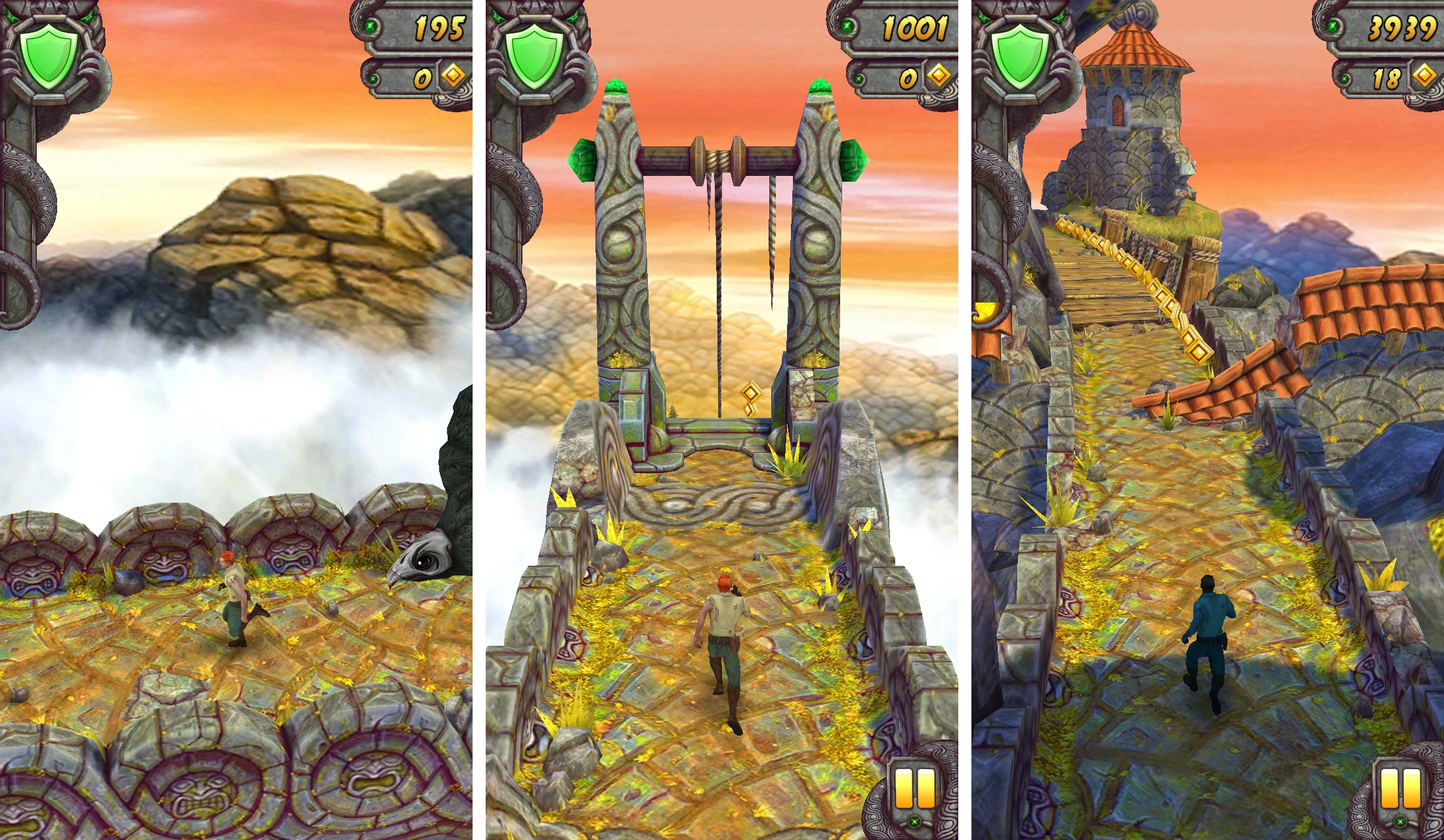temple run 2 best free iphone game - 5 Best Free iPhone Games