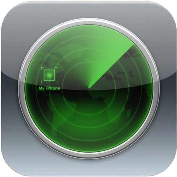 Find my iPhone image - iCloud Control Panel