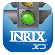 Inrix traffic app