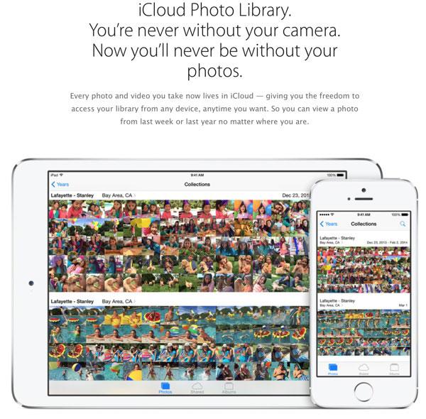 iCloud Photo Library App
