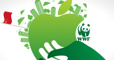 Apple partners with WWF China