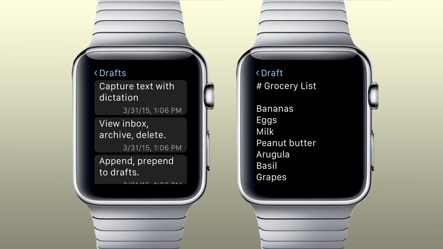 drafts4 - The Apple Watch: The Full Run Down