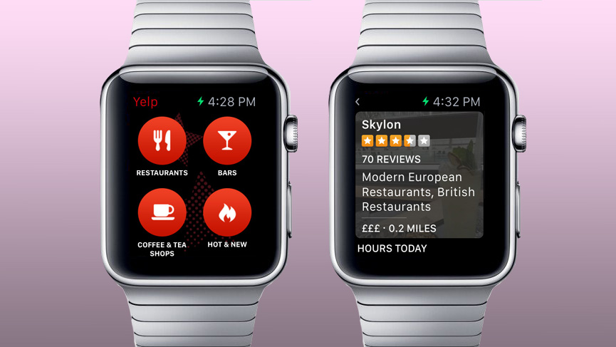 yelp - The Apple Watch: The Full Run Down