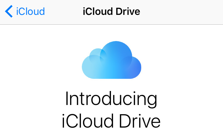 icloud drive a - 13 Features That Make iOS 9 the Best Yet!