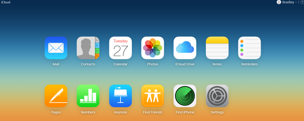 icloud dashboard 1024x410 - 'Find My iPhone' - The Ultimate Guide