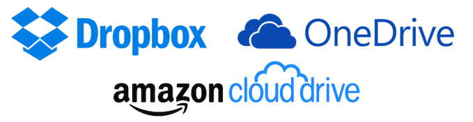 dropbox vs microsoft one drive vs amazon cloud drive