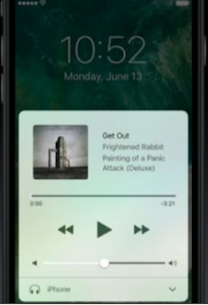 IMG  iOS 10 Music Control Center - Here's What iOS10 is Bringing To Your iPhone