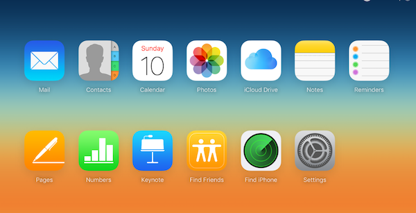 iCloud Home Screen - How Do I See What is in My iCloud account?