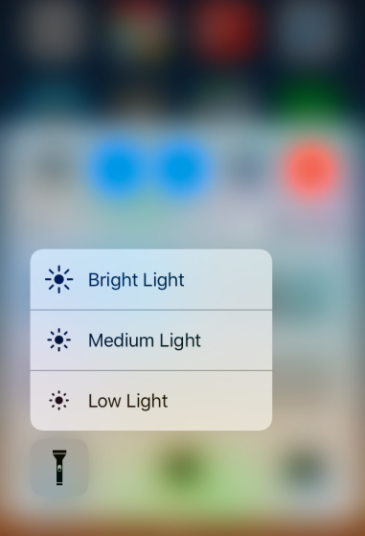 img  flashlight options 1 - The Best Hidden Secrets in iOS 10 - Revealed!