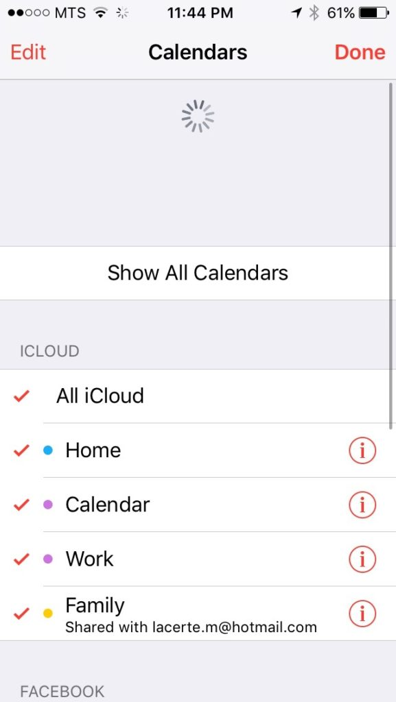 force sync all calendars