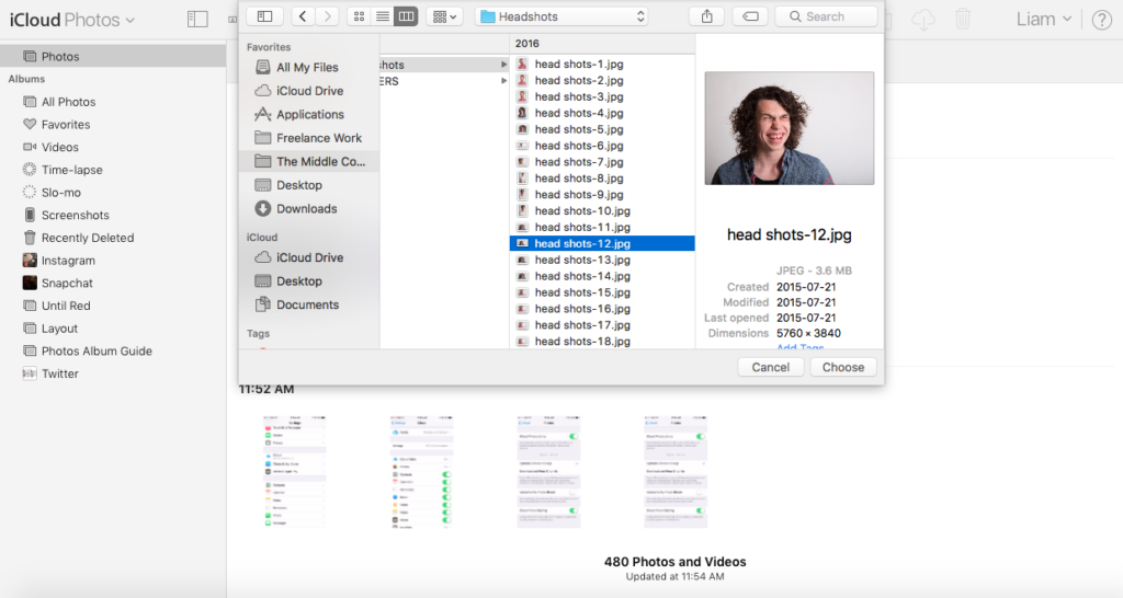 img  choose 1024x546 - How To Access And Use iCloud Photo Library Online