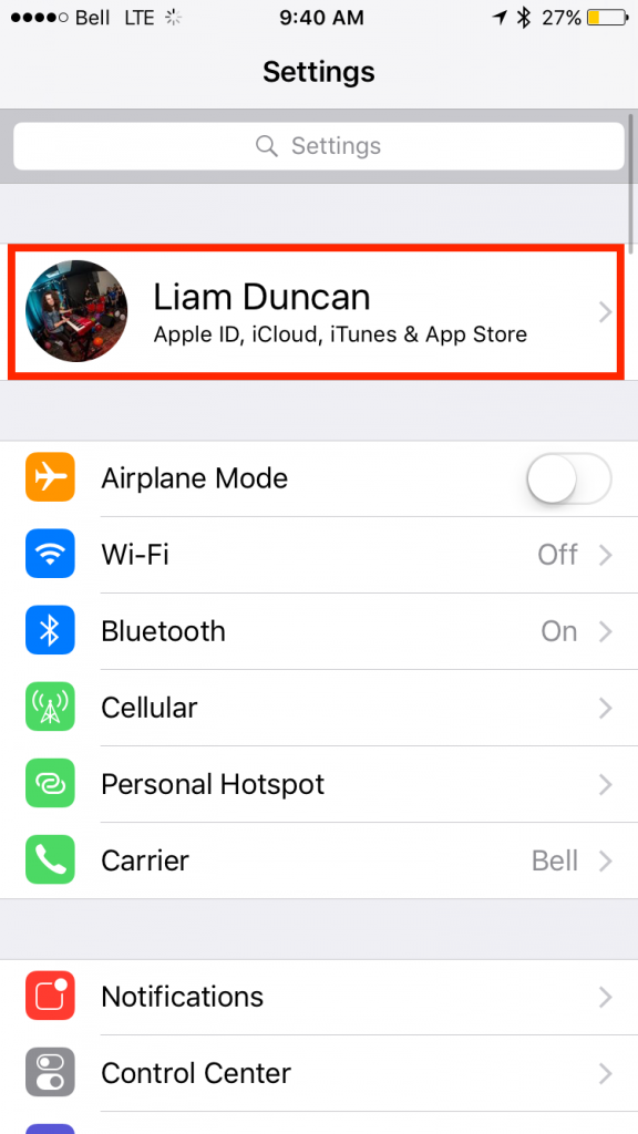 img  apple id 576x1024 - How To Upgrade, Downgrade, and Manage Your iCloud Storage