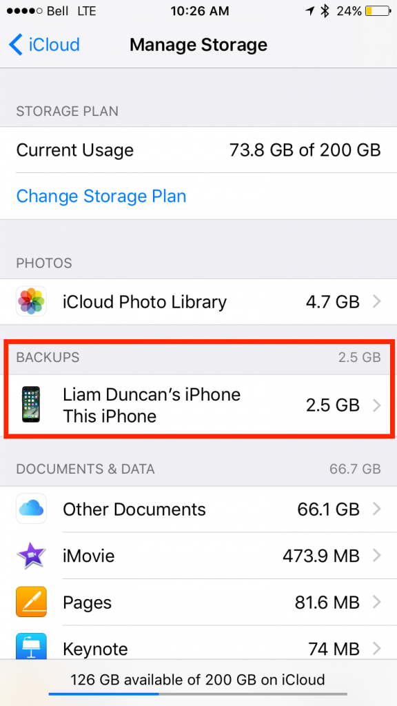 img  backups  576x1024 - How To Upgrade, Downgrade, and Manage Your iCloud Storage