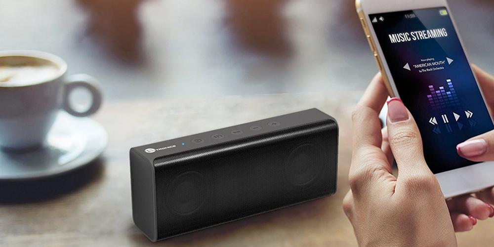 blutooth speaker2 - TaoTronics Bluetooth Wireless Speaker Pulse X